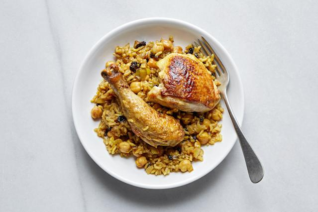"<h1 class=""title"">Chicken with Rice and Beans - HERO - v2</h1> <cite class=""credit"">Photo and Food Styling by Joseph De Leo</cite>"