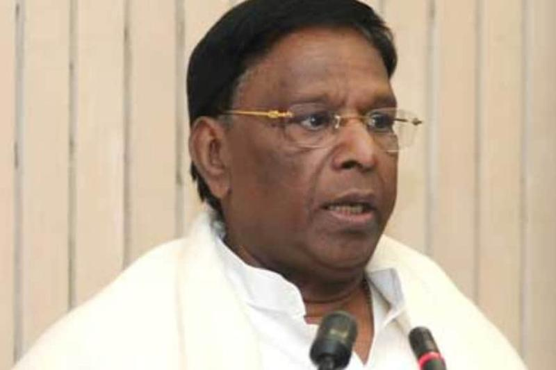 Puducherry CM Tests Negative for Covid-19, Advised to Remain in Isolation for At Least a Week