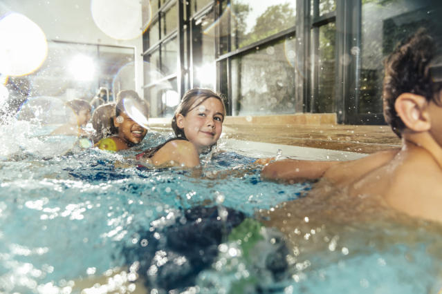 Is it safe for children to swim during the coronavirus outbreak. (Getty Images)