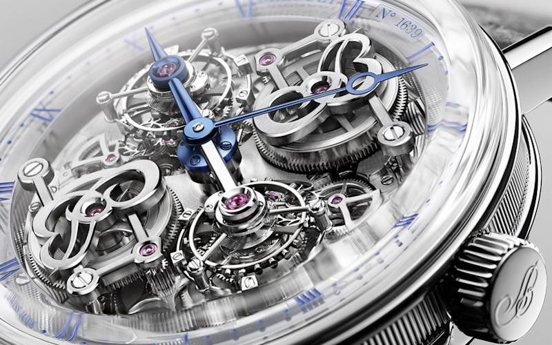 The first glimpse of Breguet's incredible 'upside-down' masterpiece, yours for £530,000