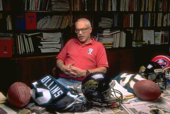 Former Sports Illustrated writer Paul Zimmerman died Thursday at age 86. (Getty Images)