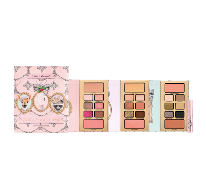 too faced enchanted wonderland makeup set