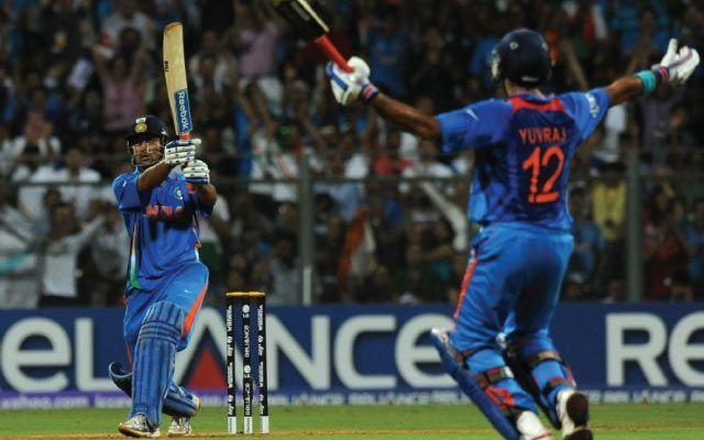 MS Dhoni- ICC World Cup 2011