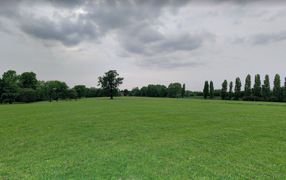 An 18-year-old man was stabbed to death at Montrose Park in Colindale, north London. (Google)