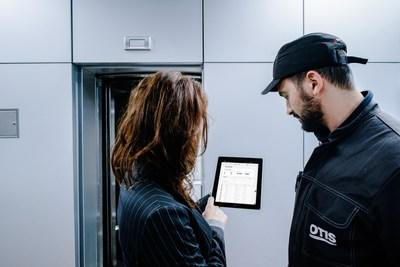 Otis ONE is Otis' connected elevator solution that personalizes the service experience