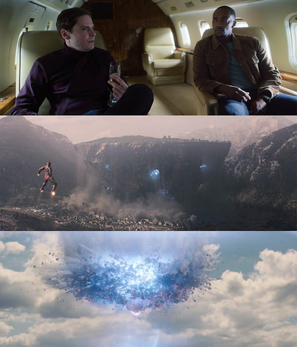 the falcon and the winter soldier 103 detail zemo plane sokovia age of ultron reference