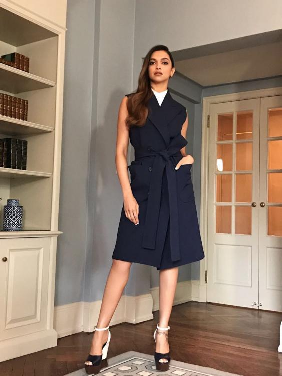 Deepika Padukone looks stunning at the Michael Kors Show at #NYFW