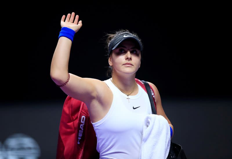 Andreescu named in Canada team for Fed Cup qualifier