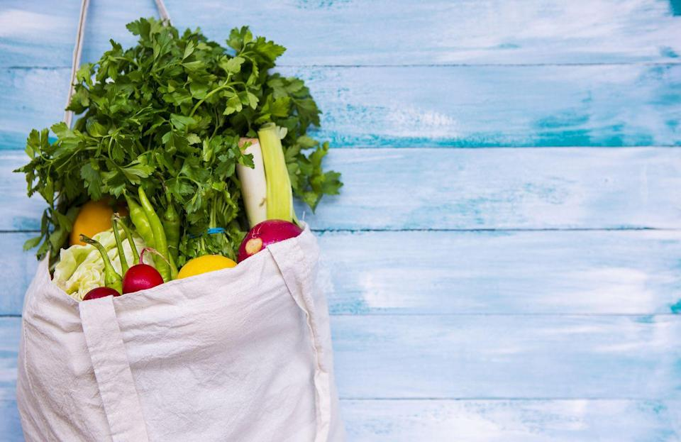 <p>Yes, it's convenient to have tote bags at the ready. However, holding on to too many is unnecessary. Instead, keep one larger bag to hold all the other bags and don't keep more than you can fit within it, says Jennings.</p>
