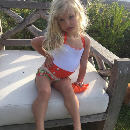 b5f477902ae34 There's Nothing Wrong With Photos of Jessica Simpson's Daughter in a Bathing  Suit