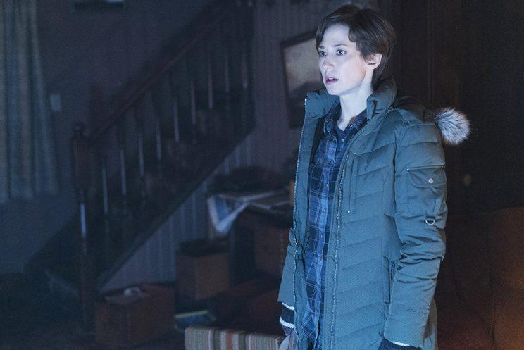 Carrie Coon as Gloria Burgle in FX's Fargo. (Credit: FX)