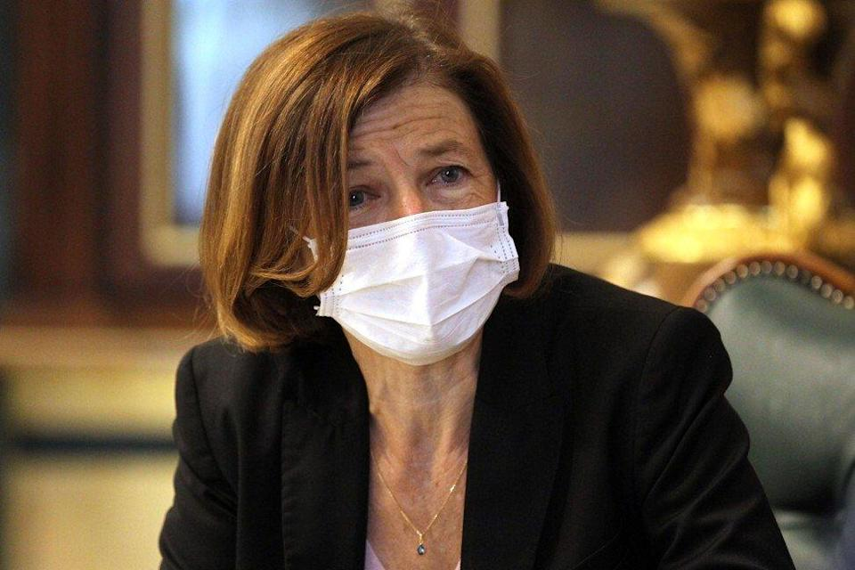 French defence minister Florence Parly. Photo: AFP