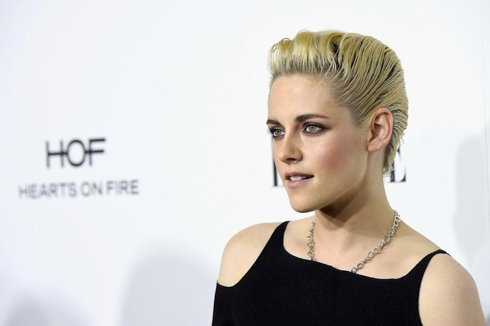 <p>This year Kristen's hair has just kept on getting shorter and shorter and we are loving it. [Photo: Getty] </p>
