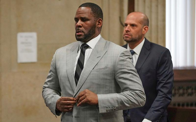 Singer R. Kelly has pleaded not guilty to a raft of federal charges - Pool Chicago Tribune