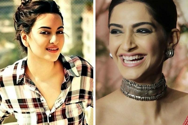 Let Sonam Kapoor, Sonakshi Sinha's PDA Be Proof That Bollywood Catfights Are a Myth