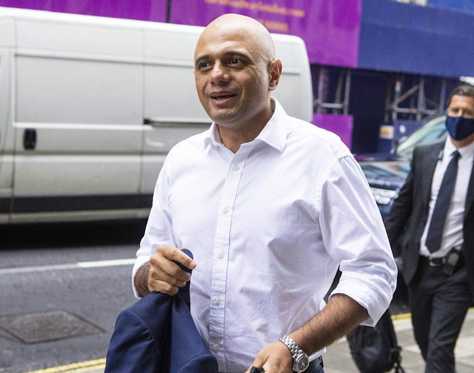 New health secretary Sajid Javid said the new date for lockdowns lifting would not be brought back. Photo: Yui Mok/PA via Getty Images