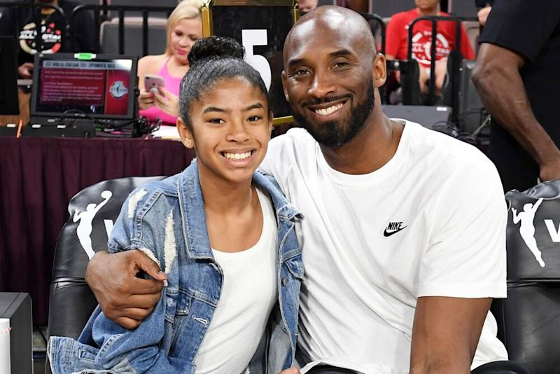 Gianna and Kobe Bryant | Ethan Miller/Getty