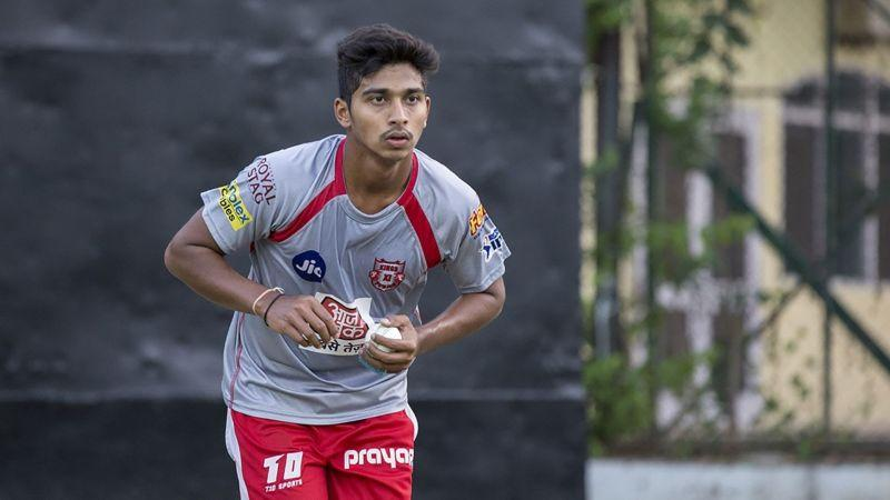 Nalkande warmed the bench for KXIP in IPL 2019