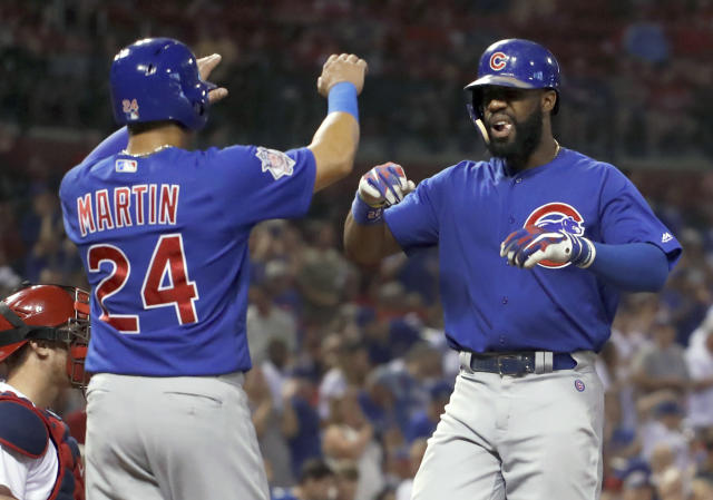 The Cubs are hoping to get in Wednesday night. (AP Photo/Jeff Roberson)