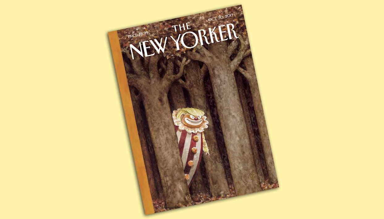 The New Yorker cover for the Oct. 30, 2017 issue.
