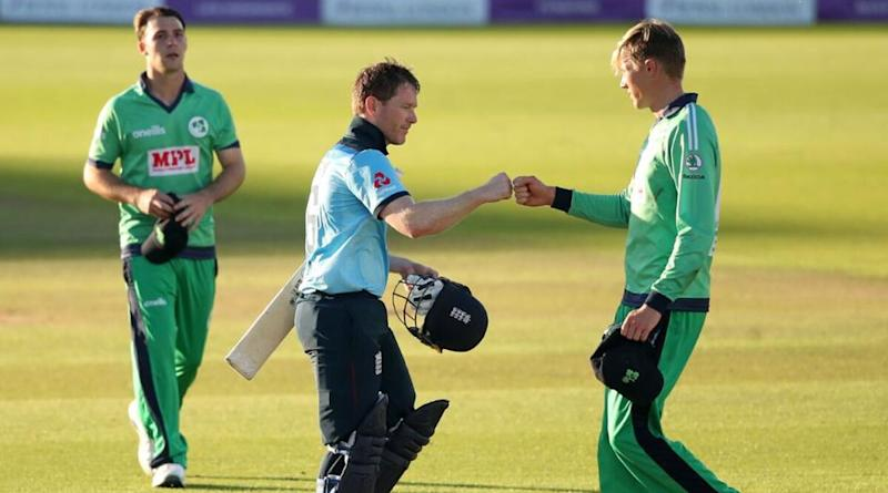ENG vs IRE 2020: Fist Bump Replaces Post-Game Handshakes As ODI Cricket Resumes