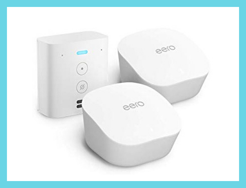Save $46 on this two-pack and get a free Echo Flex. (Photo: eero)