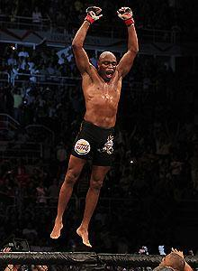 UFC middleweight champion Anderson Silva keeps soaring to new heights