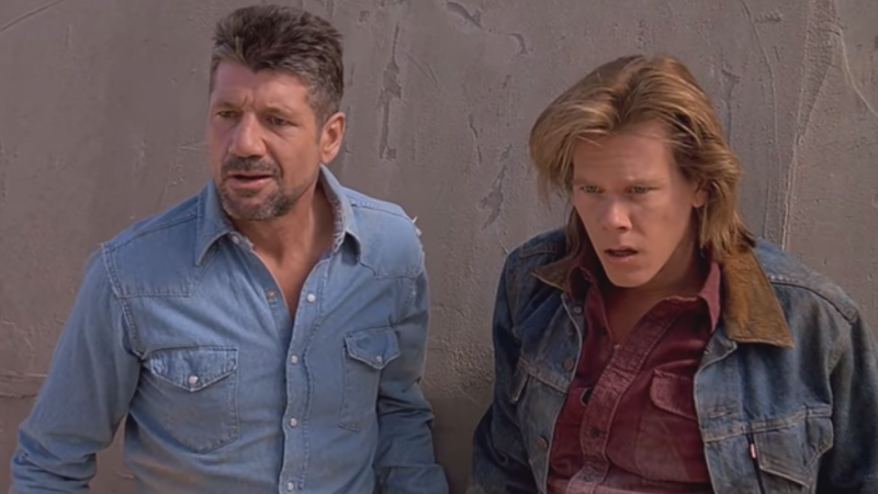 Fred Ward and Kevin Bacon in Tremors