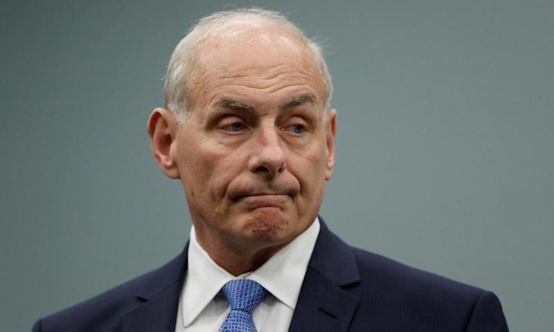 US homeland security secretary, John Kelly, whom Amber Rudd, the UK home secretary, asked to stop the intelligence leaks.