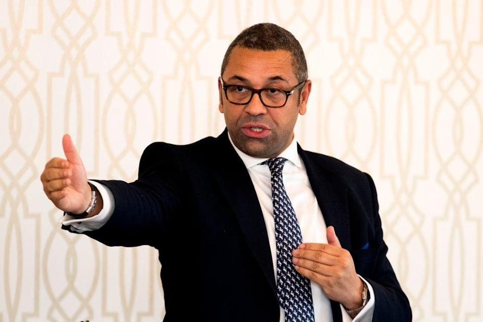 James Cleverly (Liam McBurney/PA) (PA Archive)