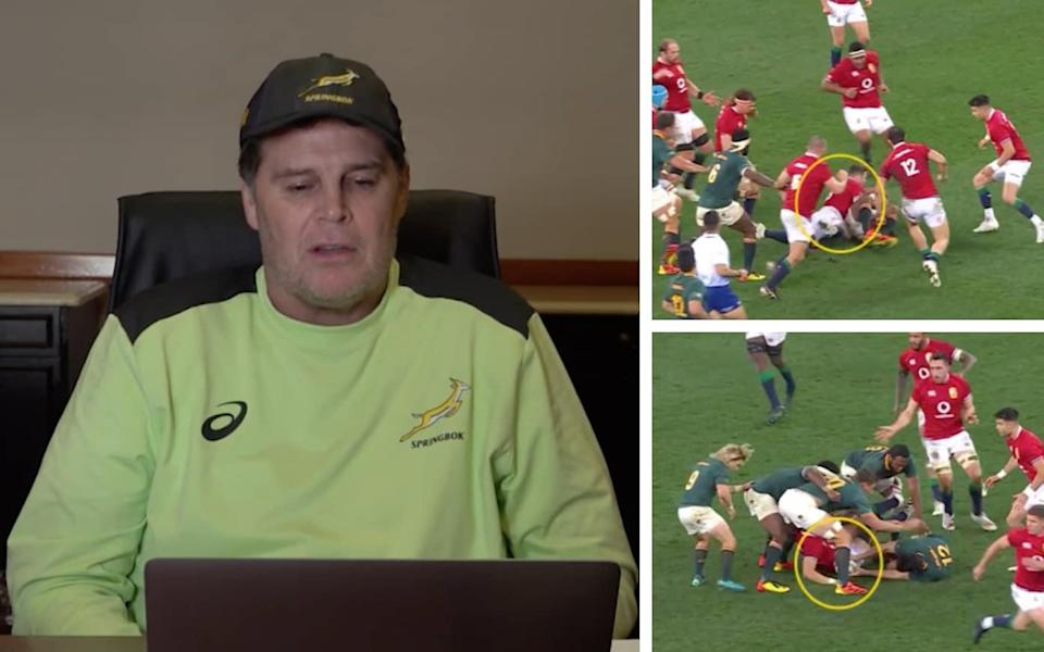 SA Rugby director of rugby Rassie Erasmus released an one-hour video on Thursday