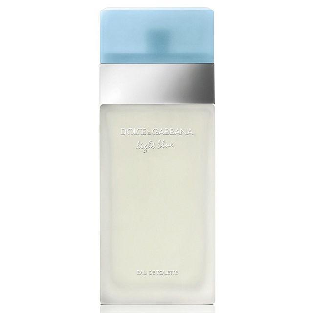 """<p>A summer favorite, this dreamy perfume will make you feel like you're spending your day in paradise. ($55.70; <a href=""""https://www.walmart.com/ip/Light-Blue-by-Dolce-Gabbana-for-Women-3.4-oz-EDT-Spray/25460902"""" rel=""""nofollow noopener"""" target=""""_blank"""" data-ylk=""""slk:walmart.com"""" class=""""link rapid-noclick-resp"""">walmart.com</a>)</p><p><strong><a href=""""https://www.walmart.com/ip/Light-Blue-by-Dolce-Gabbana-for-Women-3.4-oz-EDT-Spray/25460902"""" rel=""""nofollow noopener"""" target=""""_blank"""" data-ylk=""""slk:BUY NOW"""" class=""""link rapid-noclick-resp"""">BUY NOW</a></strong><br></p><p><strong>RELATED: <a href=""""http://www.redbookmag.com/beauty/advice/g2397/cheap-perfume/"""" rel=""""nofollow noopener"""" target=""""_blank"""" data-ylk=""""slk:10 of the Best Perfumes You Can Buy At the Drugstore"""" class=""""link rapid-noclick-resp"""">10 of the Best Perfumes You Can Buy At the Drugstore</a></strong><br></p>"""