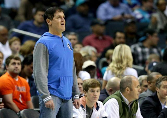 Mark Cuban purchased the Mavericks in 2000. (Getty Images)