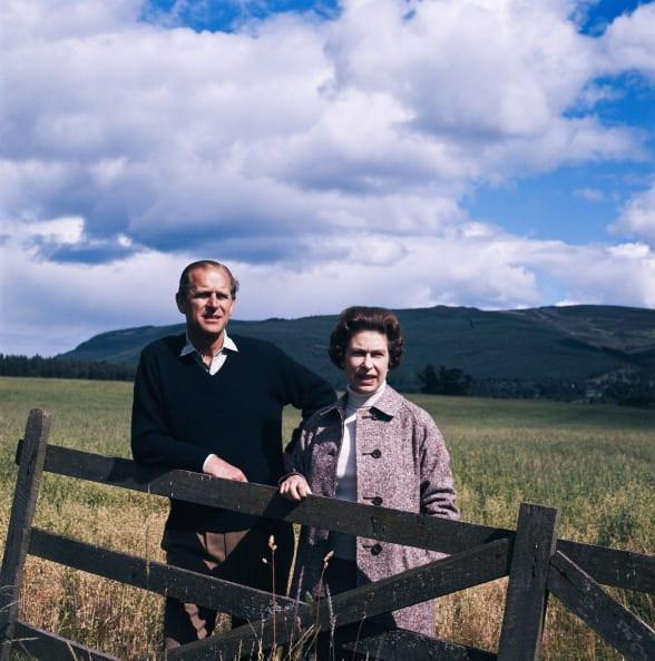 """<div class=""""inline-image__caption""""><p>Queen Elizabeth II and Prince Philip at Balmoral, Scotland, 1972.</p></div> <div class=""""inline-image__credit"""">Fox Photos/Getty Images</div>"""
