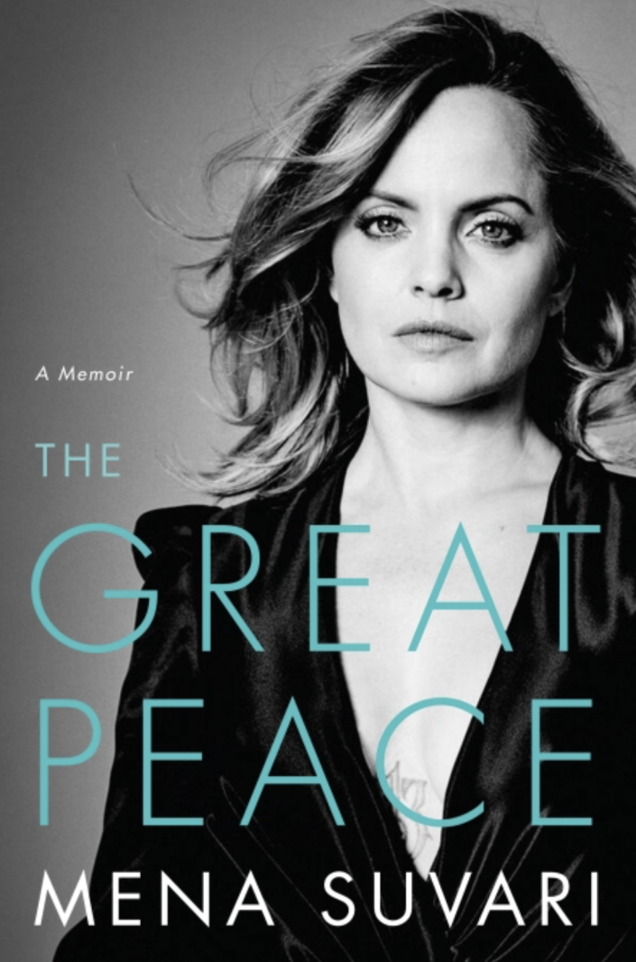 """Actress Mena Suvari comes to terms with past sexual abuse, drug use, growing up in Hollywood and how those experiences helped her reclaim her power in her new memoir, """" The Great Peace."""""""