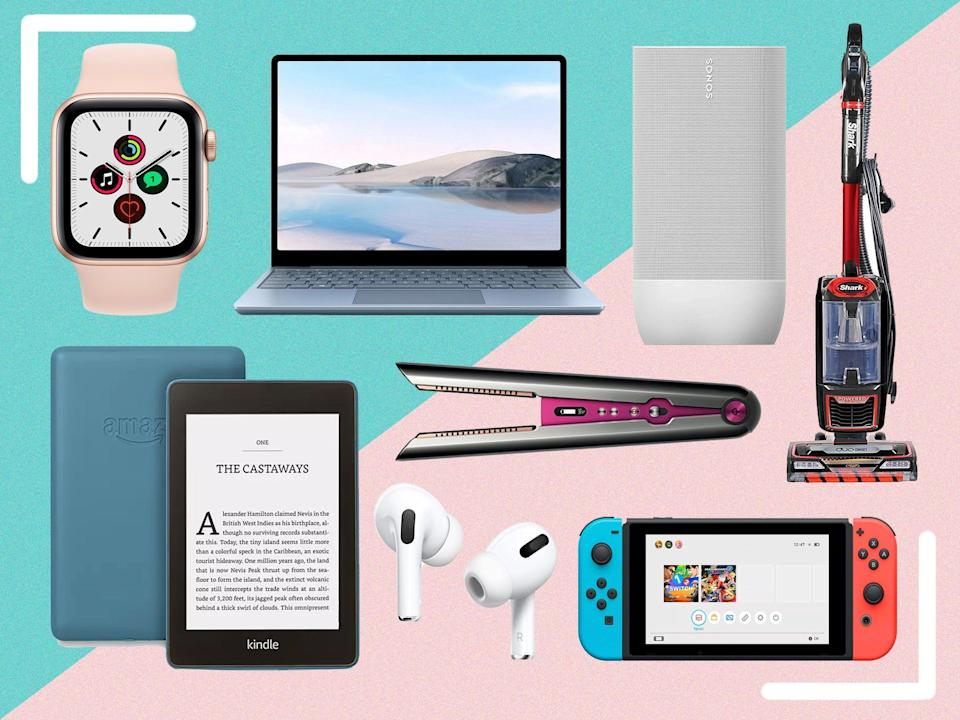 Expect savings across tech, toys, clothing, laptops, home appliances and more  (The Independent)