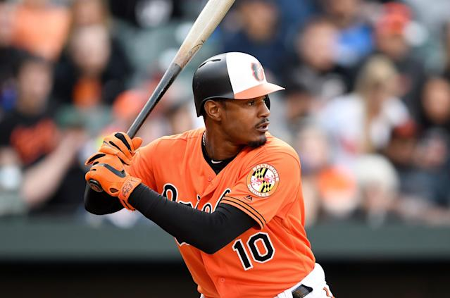 Adam Jones is reportedly the new owner of Cal Ripken Jr.'s Maryland mansion. (Getty Images)