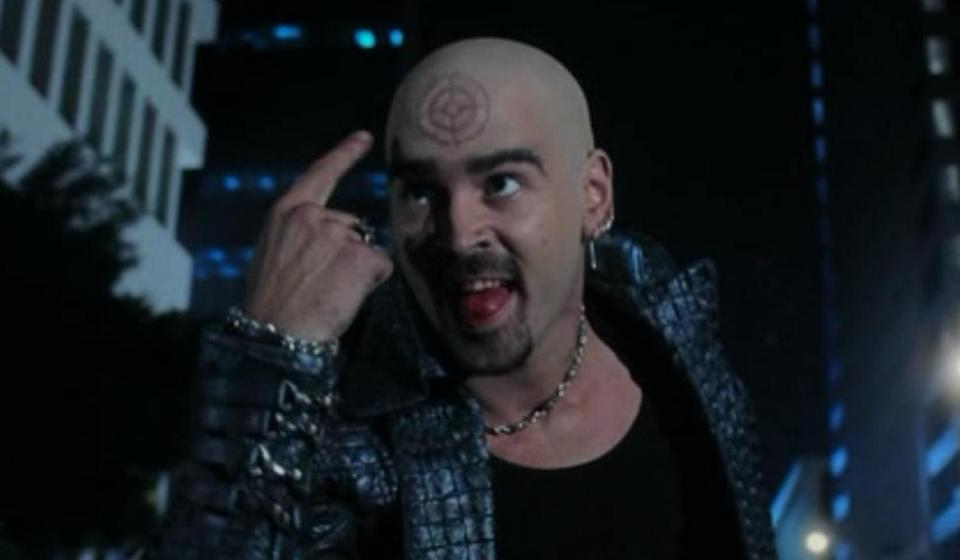 <p>Nominated for: Actor in a Motion Picture, Musical or Comedy, The Lobster Embarrassing Role: Ben Affleck wasn't the only one who got a raw deal with Daredevil. Here, Colin Farrell played Bullseye, the cheesy villain with a target on his forehead who isn't quite a match for Daredevil. </p>