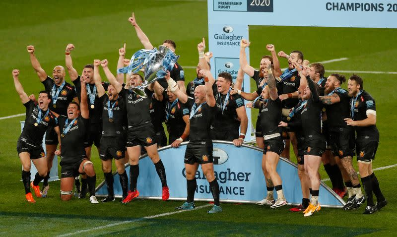 FILE PHOTO: Premiership Final - Exeter Chiefs v Wasps