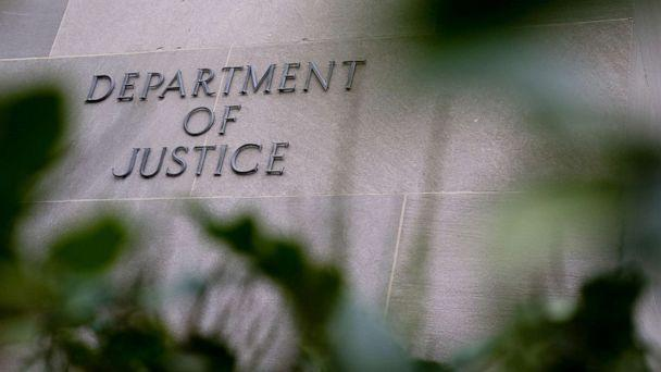 PHOTO: The Department of Justice building in Washington, D.C., Dec. 4, 2020. (Bloomberg via Getty Images, FILE)
