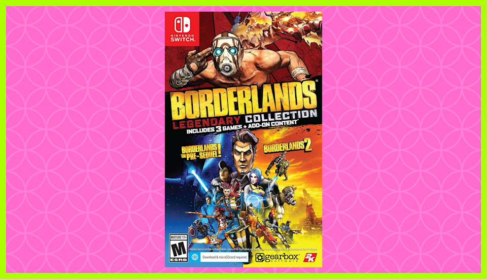 Save 60 percent on Borderlands Legendary Collection for Nintendo Switch. (Photo: Amazon)