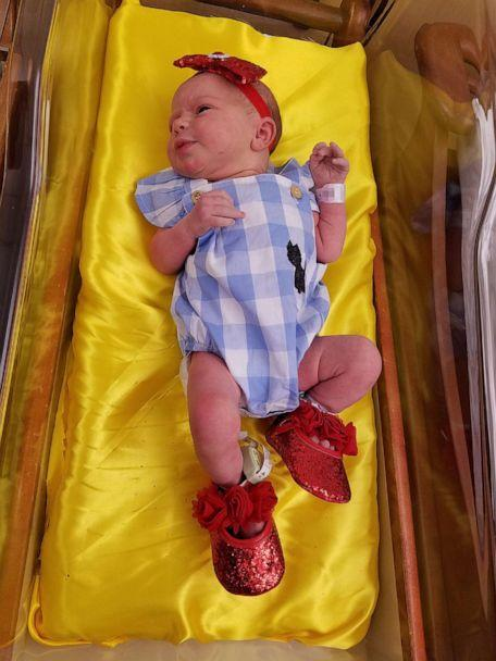 PHOTO: Newborns dress up as 'Wizard of Oz' characters in honor of film's 80th anniversary (Allegheny Health Network)