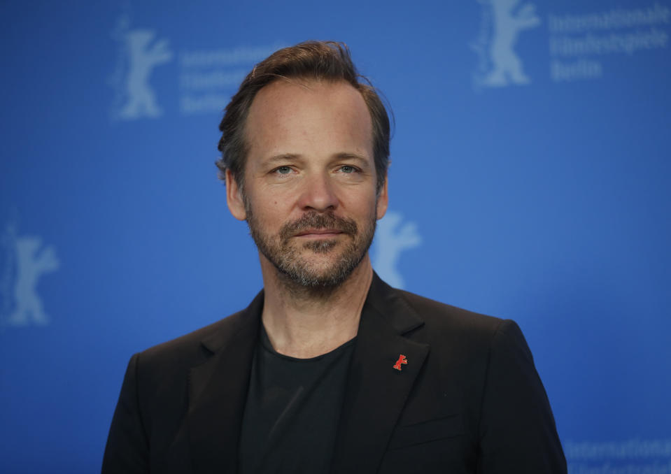 Actor Peter Sarsgaard poses during a photocall to promote the movie Mr. Jones at the 69th Berlinale International Film Festival in Berlin, Germany, February 10, 2019. REUTERS/Hannibal Hanschke