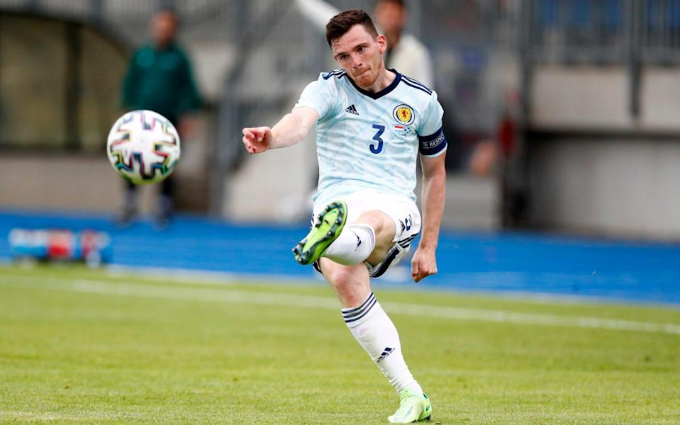 High praise indeed for Andy Robertson - REUTERS