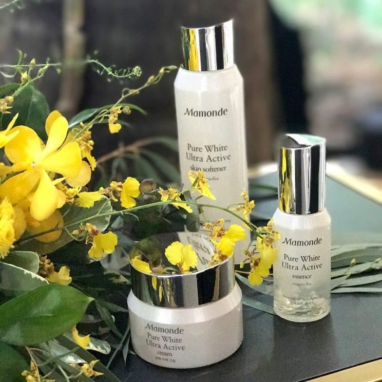 Mamonde has skincare and makeup lines dedicated to flowers such as hibiscus, camellia, magnolia, honeysuckle and lotus.