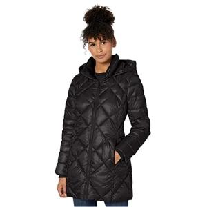 """<span class=""""caption"""">Marc New York by Andrew Marc Women's Claremont Diamond Quilted Down Jacket with Removable Hood</span> <span class=""""credit"""">Amazon</span>"""