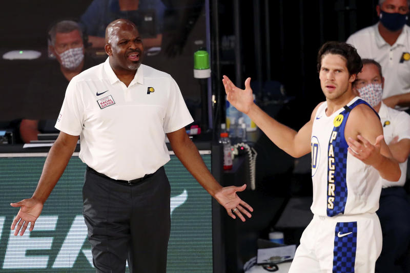 Pacers McMillan Fired Basketball