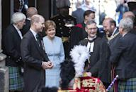 <p>At the opening ceremony of the General Assembly of the Church of Scotland on May 22, 2021 in Edinburgh, Scotland.</p>