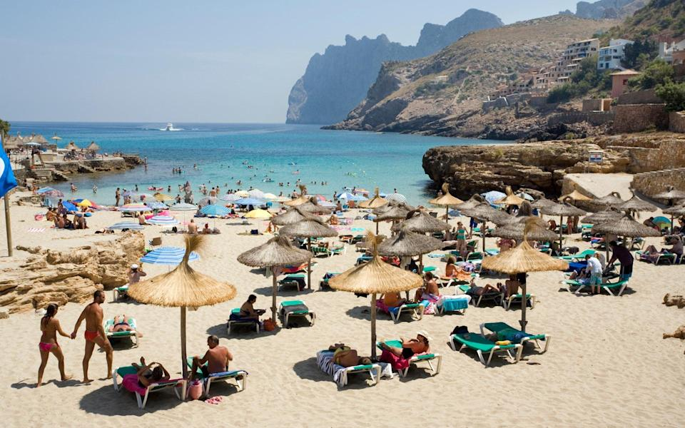 Majorca is consistently popular with British holidaymakers - Getty
