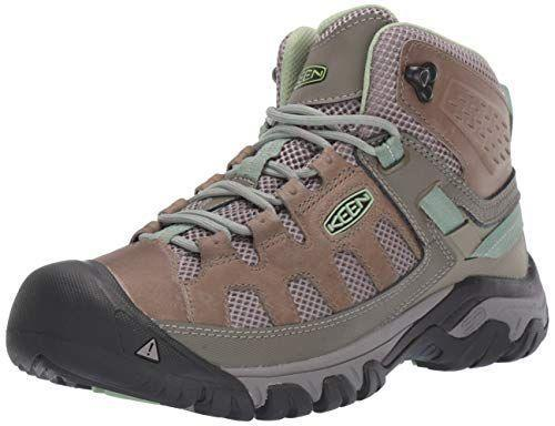"""<p><strong>KEEN</strong></p><p>amazon.com</p><p><a href=""""https://www.amazon.com/dp/B07DZ81TDC?tag=syn-yahoo-20&ascsubtag=%5Bartid%7C10050.g.23549426%5Bsrc%7Cyahoo-us"""" rel=""""nofollow noopener"""" target=""""_blank"""" data-ylk=""""slk:Shop Now"""" class=""""link rapid-noclick-resp"""">Shop Now</a></p><p>These waterproof hiking boots are perfect for trails. The soles have extra grip to ensure safe hiking on a variety of terrain. </p>"""